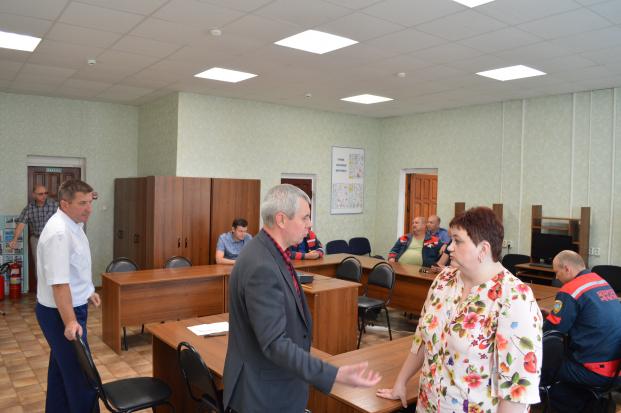 Встреча-отчет с работниками Локомотивного депо Барановичского отделения Белорусской железной дороги 31 июля 2020 г.