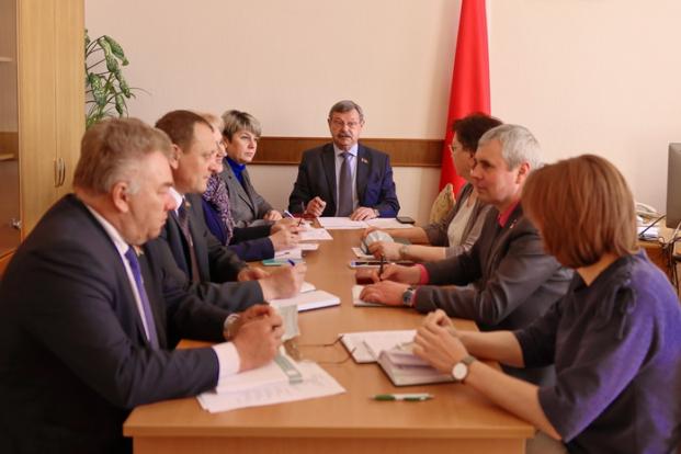 Участие в заседании Постоянной комиссии Палаты представителей по вопросам экологии, природопользования и чернобыльской катастрофы, под руководством Василькова Н.А. 4 мая 2021 года.