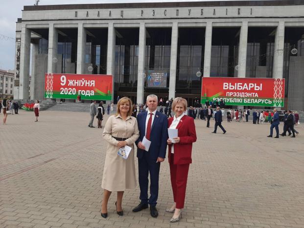 Участие в заслушивании ежегодного Послания Президента Республики Беларусь А.Г. Лукашенко белорусскому народу и Национальному собранию Республики Беларусь 4 августа 2020 года